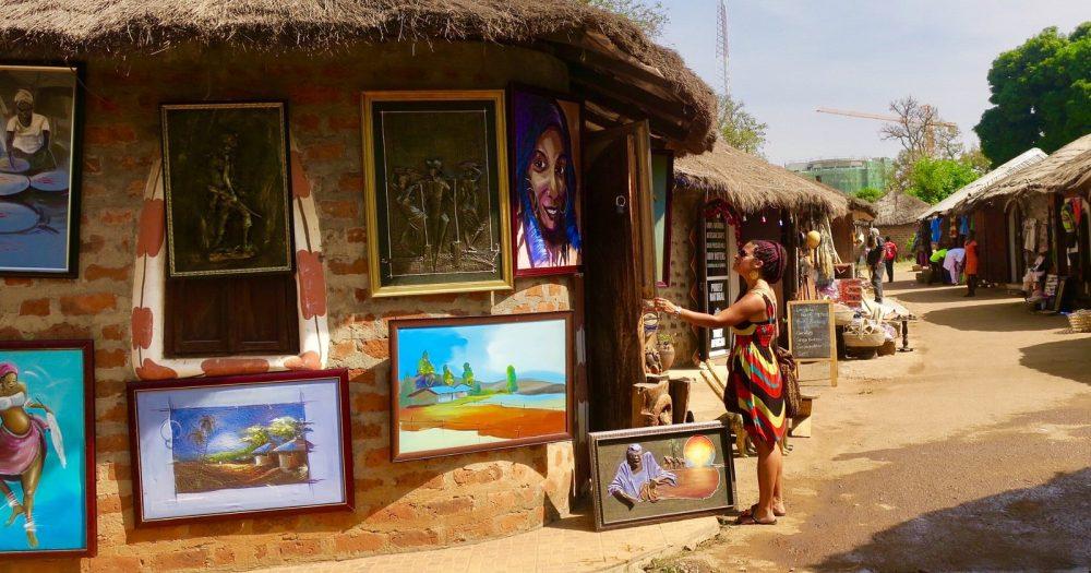 paintings-in-abuja-village