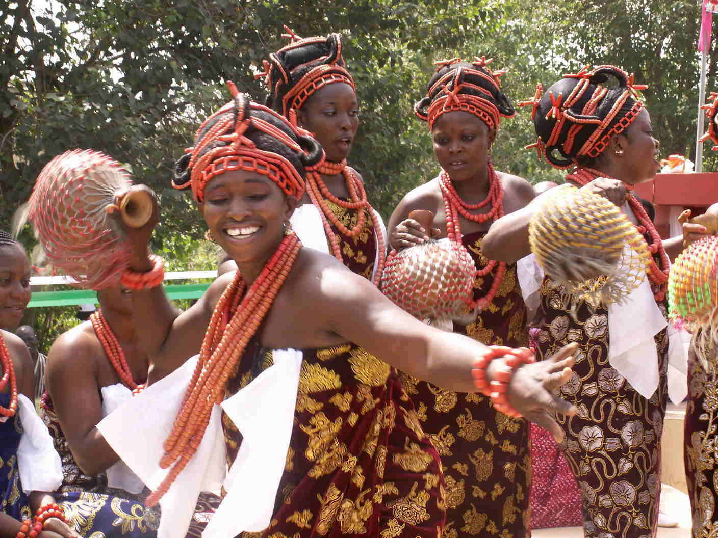 Female Benin City Dancers
